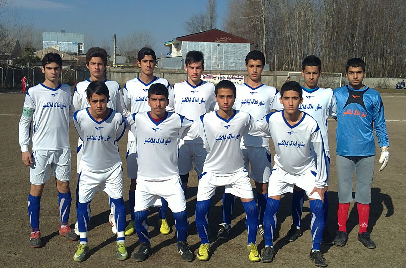 خمام - برد تیم فوتبال نوجوانان شهرداری خمام در مقابل شهدای خشکبیجار