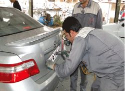 خمام - هفته آینده پلاك گذاری خودروها در منطقه آزاد انزلی آغاز میشود