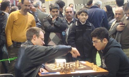 پايان رقابتهاي بينالمللي شطرنج
