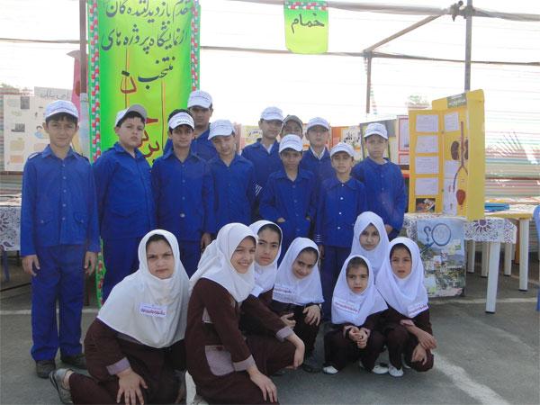 خمام - موفقیت دانش آموزان ابتدایی خمام در جشنواره استانی جابربن حیان