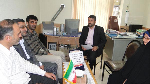 جلسه ستاد غنی سازی اوقات فراغت دانش آموزان منطقه خمام