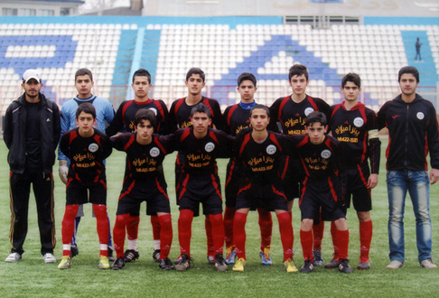 خمام - تیم فوتبال نوجوانان خمام، در یک قدمی صعود به لیگ برتر گیلان