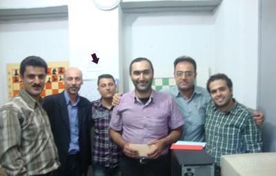 حمید نوری، قهرمان شطرنج خمام