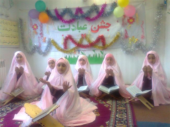 خمام - برگزاري جشن تكليف الفباي پايه اول و جشن فارغ التحصيلي نوآموزان پيش دبستان