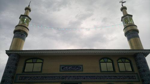 خمام - مسجد مذهبی-فرهنگی سیدالشهدای خمام
