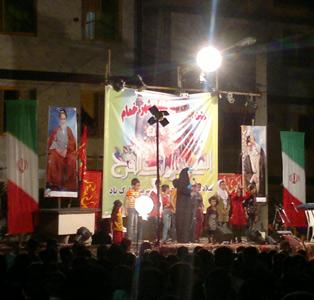 جشن بزرگ نیمهی شعبان با حضور صدها تن از همشهریان برگزار شد