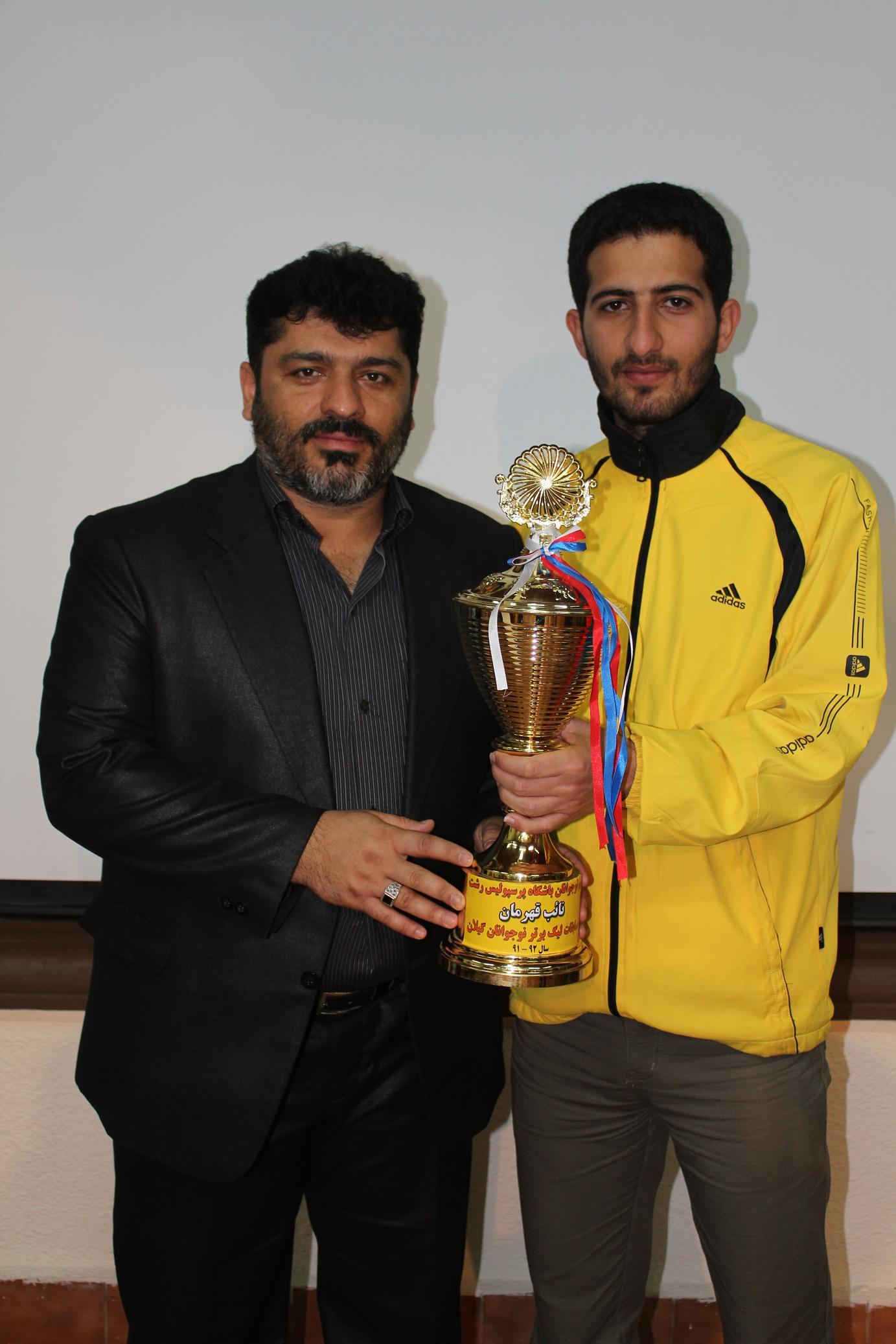 سیدمحمد سیدزاده، سرمربی جدید تیم نوجوانان پرسپولیس رشت