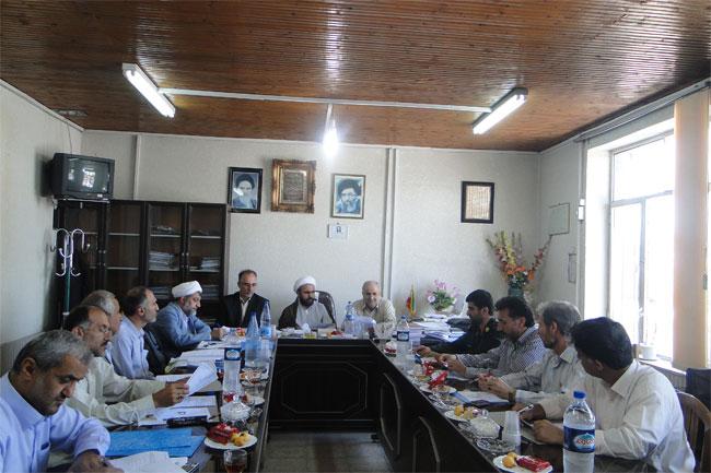 خمام - برگزاری جلسه شورای آموزش و پرورش