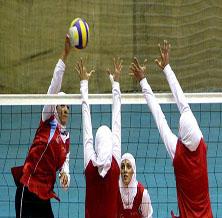 خمام - برگزاری کلاسهای آموزشی والیبال در ردهی سنی نونهال، نوجوان و جوان