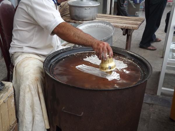 تصاویری از خمام – رشته و خشکار، نان، زولبیا و بامیه