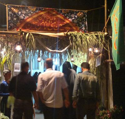 حضور سردار فضلی در بیست و هفتمین سالگرد شهادت سردار مهدی شریفیپور