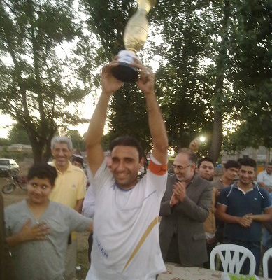 خمام - تیم فوتبال تازه آباد خواچکین، قهرمان جام دهیاریهای بخش خمام