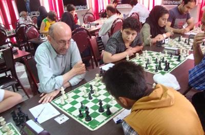 """خمام - ششمین دوره از مسابقات """"جام باران"""" در محل هیات شطرنج استان آغاز شد"""