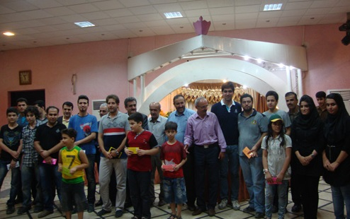 خمام - کسب مقام پنجم در مسابقات جام رمضان فومن توسط شطرنجباز خمامی