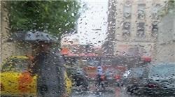 خمام - شدت گرفتن بارش باران در گیلان