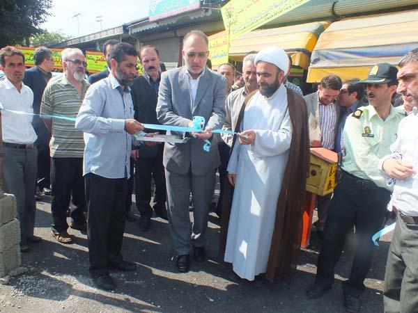 افتتاح بازارچه، پل هوایی و بوستان روستایی در چهارمین روز از هفتهی دولت
