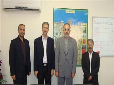 صادق کشاف، سرپرست جدید دفتر پست خمام