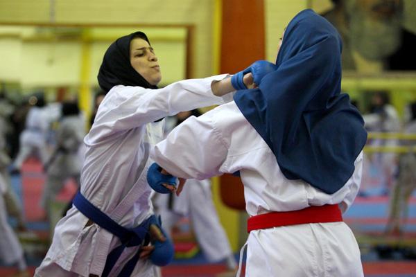 خمام - درخشش کاراتهکای خمامی با کسب مدال برنز در مسابقات کشوری