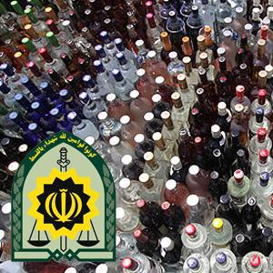 خمام - کشف 41 لیتر مشروبات الکلی دستساز توسط عوامل نیروی انتظامی خمام