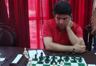 """""""عباس بربری""""، تنها شرکت کنندهی خمامی حاضر در مسابقات شطرنج آزاد گیلان"""