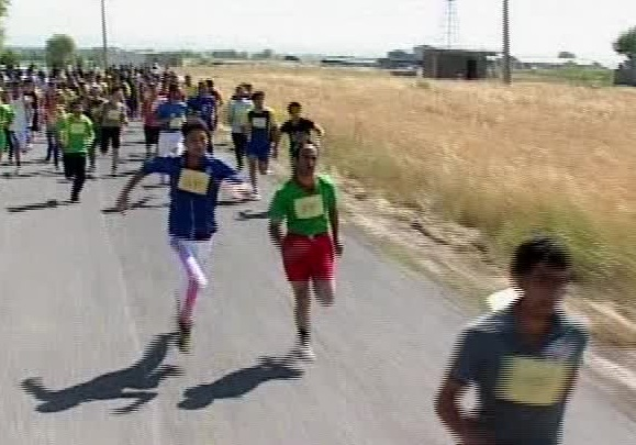 خمام - برگزاری مسابقات دو و میدانی در روستاها