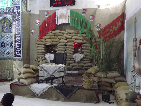 اولین یادوارهی سرداران و 165 شهید والامقام بخش خمام برگزار شد