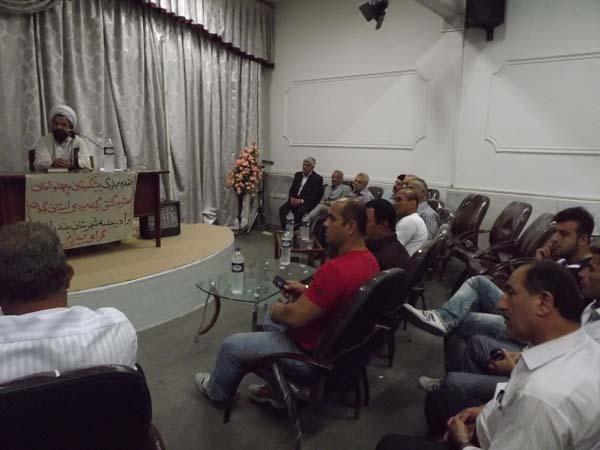 برگزاری جسلهی هماندیشی با پیشکسوتان و پهلوانان کشتی گیلهمردی استان گیلان
