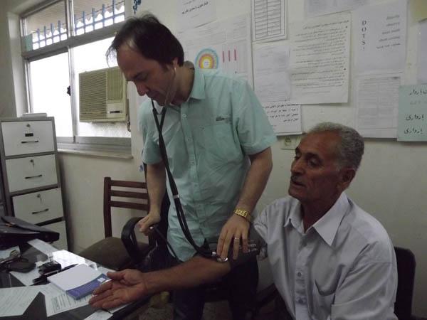 برگزاری طرح ویزیت رایگان به مدت دو روز متوالی در روستاهای بخش خمام