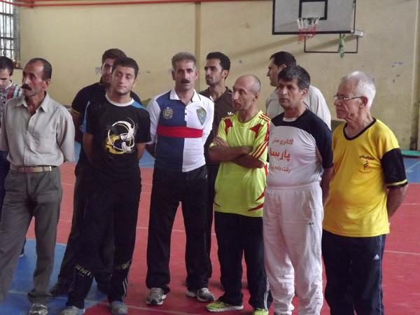 برگزاری مراسم اهدای جوائز به شرکتکنندگان مسابقهی دو و میدانی
