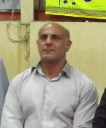 """قهرماني """"سيدعباس کاظمي"""" در مسابقات پرس سينهی کشور"""