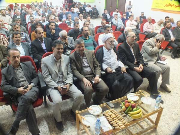 خمام - برگزاری اولین گردهمایی مشترک رئیس و اعضای شوراهای اسلامی روستاهای خمام