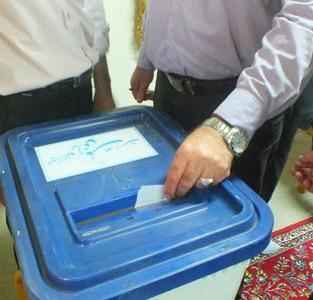 انتخابات شورای بخش خمام در سالن اجتماعات بخشداری برگزار گردید