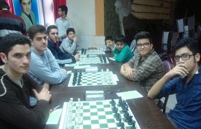 خمام - موفقیت تیمهای شطرنج خمام در هفتهی سوم از مسابقات شطرنج لیگهای گیلان