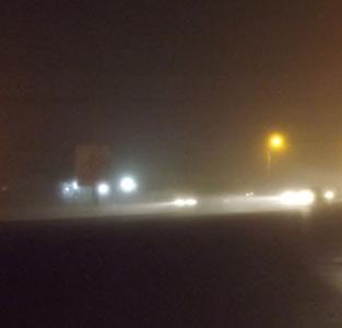 خمام - بهروایت تصویر: مه غلیظ