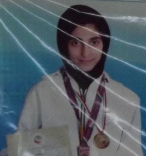 مهتاب ثابت، کسب مقام سوم در مسابقات تکواندو