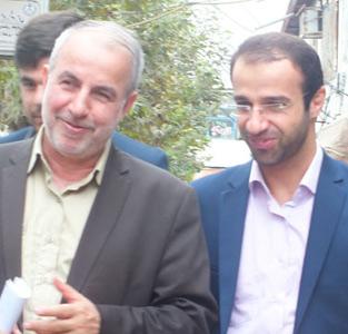 خمام - حضور کوچکینژاد در جلسهی شورای شهر