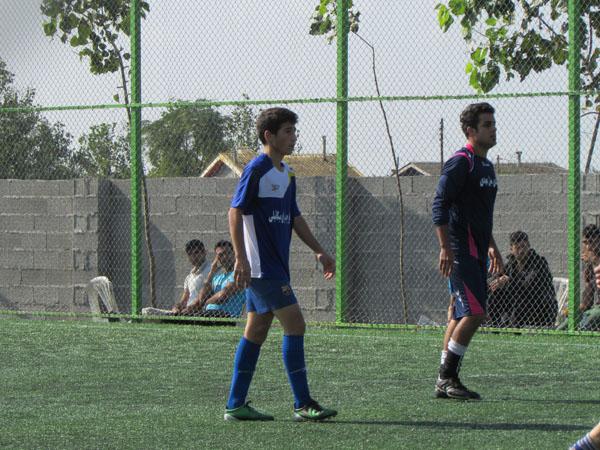 خمام - بُرد 9 بر 0 تیم فوتبال آپادانای خمام در مقابل تیم شهدای چپرپرد پایین
