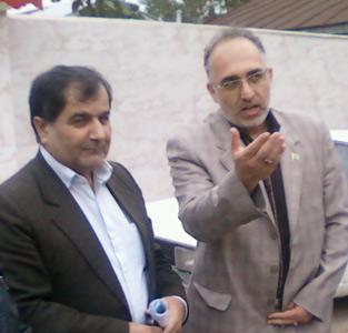 بازدید مدیرعامل شرکت آب و فاضلاب روستایی استان گیلان از 3 دهستان خمام