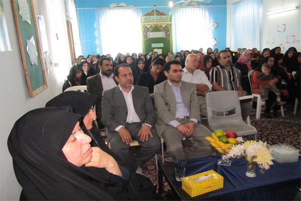 خمام - برگزاری جلسهی انجمن اولیاء و مربیان در دبیرستان الزهرا (س) خمام
