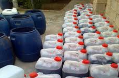 خمام - کشف بیش از 120 لیتر مشروبات الکلی در یک کارگاه واقع در خیابان بوعلی