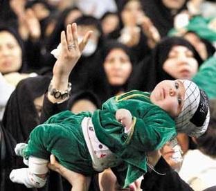 خمام - ششمین همایش شیر خوارگان حسینی در اولین جمعهی محرم برگزار میگردد