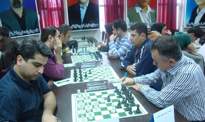 تیم شطرنج شهرداری خمام در جایگاه چهارم لیگ برتر گیلان قرار گرفت