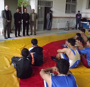 شانزدهمین جلسه از تمرین کشتی فرنگی نونهالان استان گیلان برگزار شد