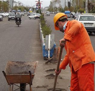 جدولگذاری و نورپردازی خیابان امام خمینی