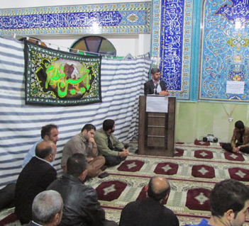 خمام - گردهمایی توجیهی رزمایش بیتالمقدس در مسجد سیدالشهداء (ع) برگزار گردید