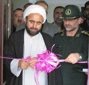 پایگاه مقاومت بسیج شهدای گمنام خمام با حضور مسئولین افتتاح گردید