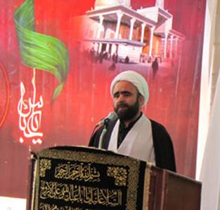 خمام - پیروزی انقلاب اسلامی برگرفته از عاشورا و فریاد یاحسین رزمندگان دفاعمقدس بود