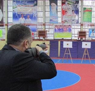 مسابقهی تیراندازی با تفنگ بادی برگزار شد