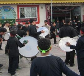 خمام - مراسم عزاداری در مدارس شهید مطهری، دبیرستان کوثر و شهید بصارتی 2 برگزار شد