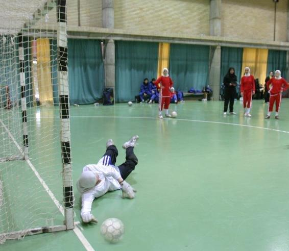 خمام - برگزاری مسابقهی فوتسال بانوان بین تیمهای خمام و کوچصفهان
